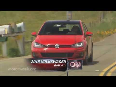 MotorWeek   Quick Spin: 2015 Volkswagen Golf GTI