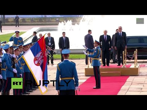 LIVE: Putin visits Belgrade on Liberation Day