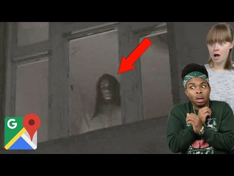 SCARY Things CAUGHT On GOOGLE Maps Ft. My Girlfriend