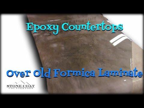 Epoxy Countertops over laminate