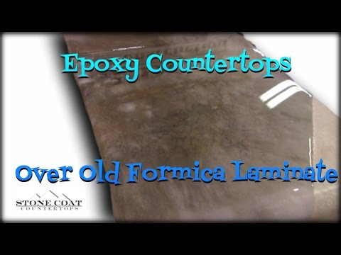 Epoxy Countertops Over Laminate Youtube