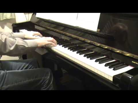 Lonely Town (Bernstein), piano with subtitles