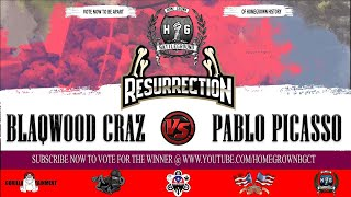 Blaqwood Craz vs Pablo Picasso | Homegrown Battleground | Hosted By ZitrotheGreat