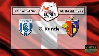 Чемпионат Швейцарии 8 тур Лозанна - Базель | Обзор матча(, 2016-09-24T11:37:34.000Z)