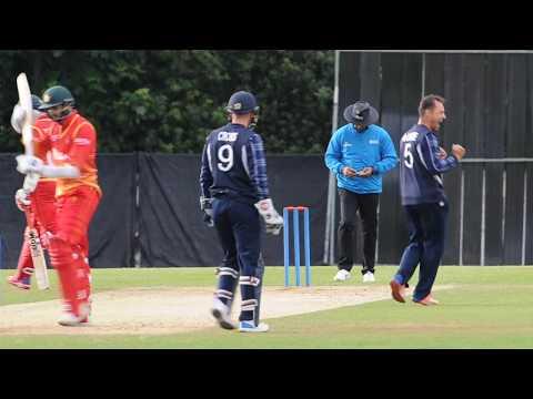 Scotland record historic win over Zimbabwe - 15 June 2017