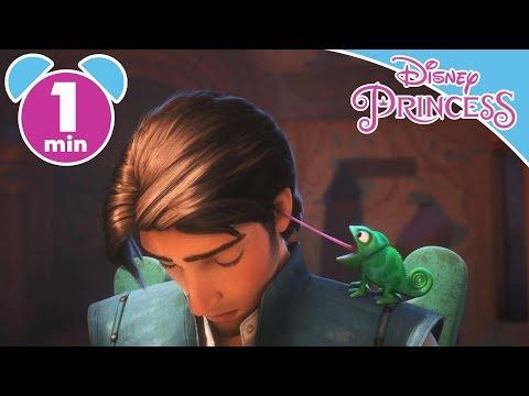 Tangled | Pascal Wakes Up Flynn! | Disney Princess