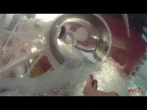 AquaDuck POV full water slide aboard Disney Dream cruise ship