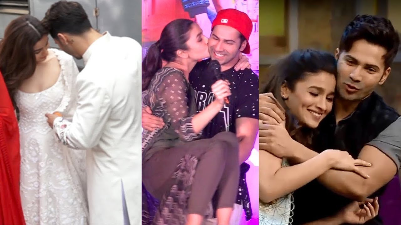 Varun Dhawan And Alia Bhatt's Cute Moments From Student Of ...
