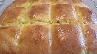 Пирог с сыром.  Погача