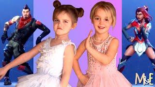 FORTNITE DANCE CHALLENGE | MILA & EMMA