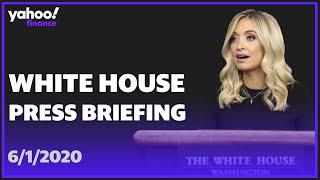 Watch: White House Press Secretary Kayleigh Mcenany Briefs Reporters