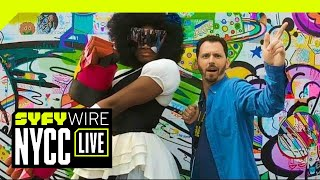 VR180 | 180° Cosplay Dance-Off | New York City Comic Con 2018 | SYFY WIRE