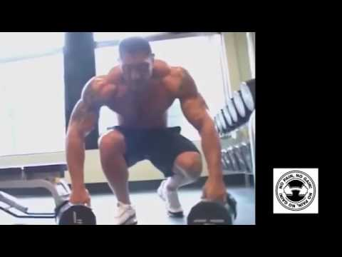 batista workout in the gym