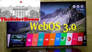 Обзор webOS 3.0, подключение bluetooth-устройств к телевизору LG