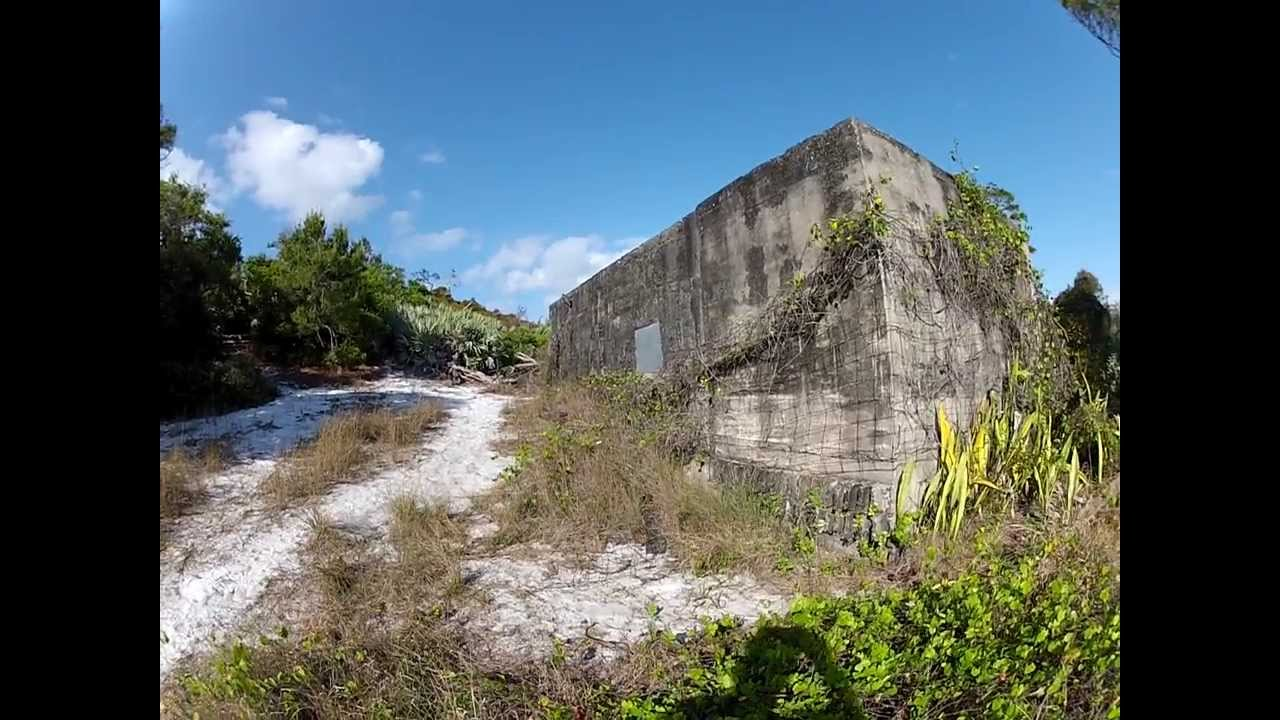 Old Military Bunker in Jonathan Dickinson State Park - YouTube
