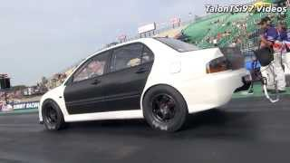Worlds Fastest EVO8 Fighting Traction! STM TUNED