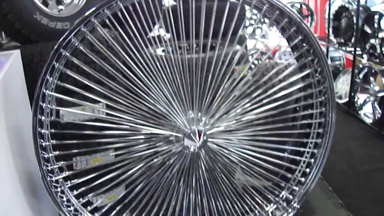 HILLYARD CUSTOM RIM&TIRE WORLDS BIGGEST RIM 50 INCH WIRE WHEEL ...