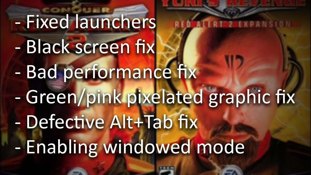 Playing Red Alert 2 and Yuri's Revenge on Windows 10 - Wiretuts