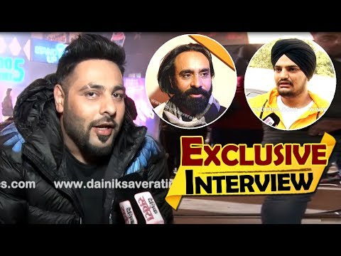 BADSHAH | Exclusive Interview | First Time Speaks About Babbu Maan & Sidhu Moose Wala