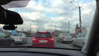 Движение по кругу с автоинструктором.