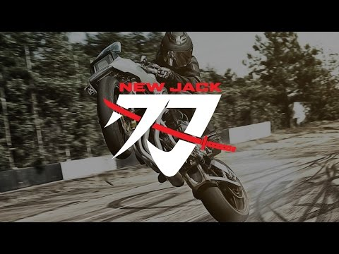 "Icon 1000 Suzuki ""New Jack"" Katana Custom"