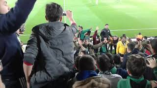 (çaybaşı)Akhisar-Konya maç sonu klasik akhisar yenme keyfi (çaybaşı)