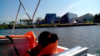 Boat ride at Nuvali Sta rosa Laguna 2015