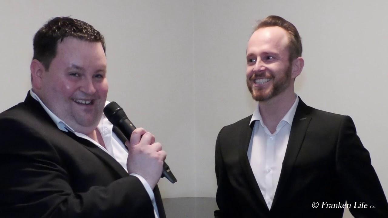 Alexander Herzog Und Martin Van Holtgreven Von Den 12 Tenoren Franken Life Youtube
