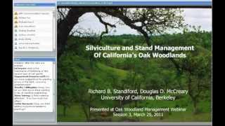 Silviculture and Stand Management of California