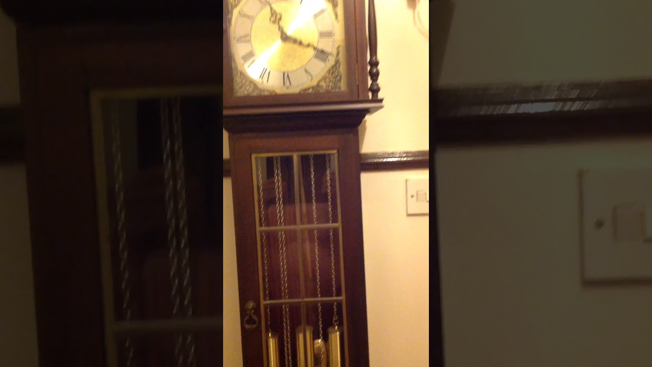 Hermle Grandmother Clock 1970s Youtube