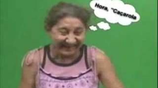 Dona Irene Soletrando PA - NE - LA = CAÇALORA