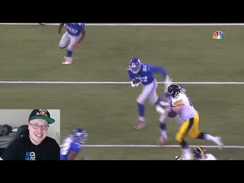 INTERCEPTIONS FOR DAYS! NEW YORK GIANTS VS PITTSBURGH STEELERS! NFL PRESEASON WEEK 1 HIGHLIGHTS