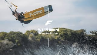 WTF!? 2020 | Twin-tip kite board | Product video by Maxime Chabloz