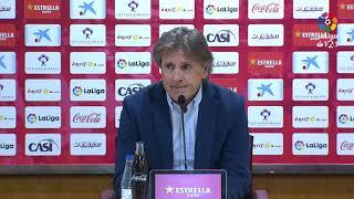 Rueda de prensa de Sergio Egea tras el UD Almería vs Real Oviedo (0-1)