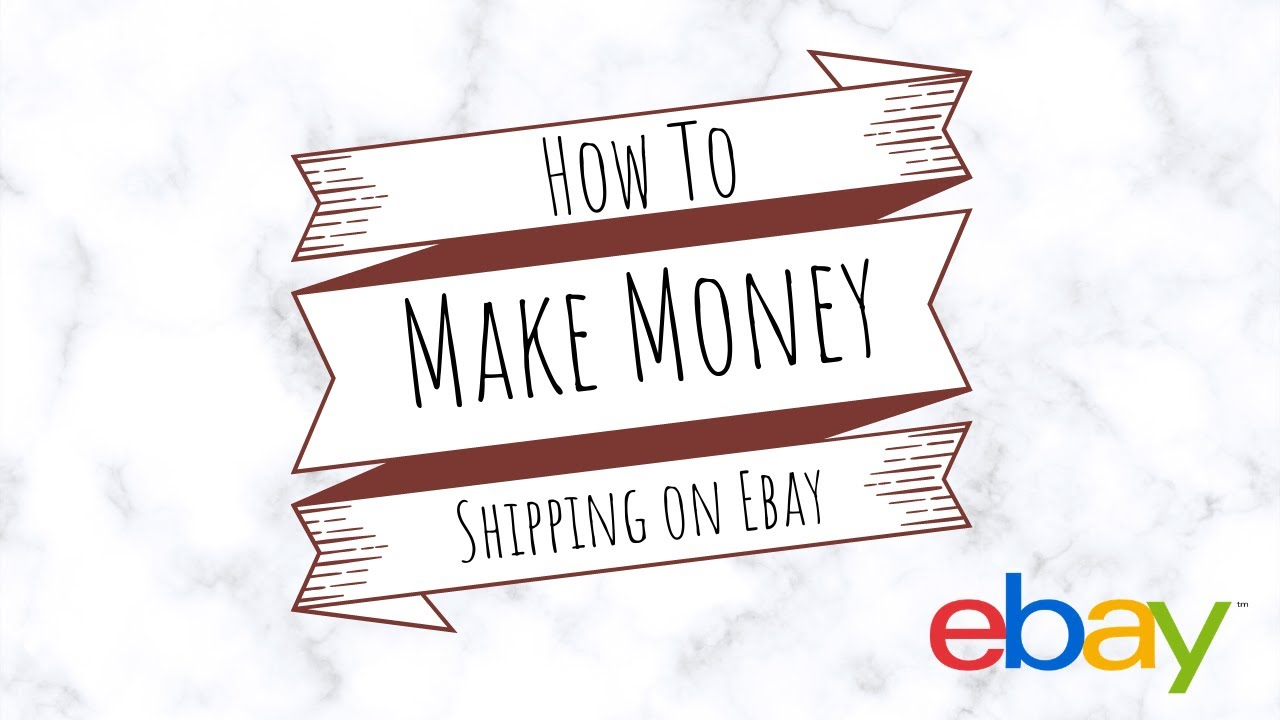 How To Create Shipping Policies On Ebay Make Money With Every Package Youtube