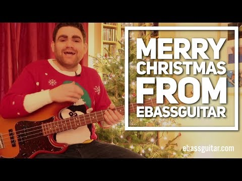How To Play We Wish You A Merry Christmas On The Bass Guitar