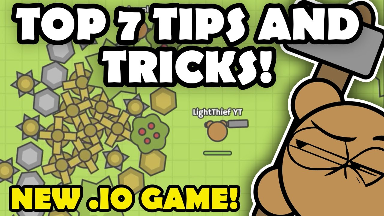MooMoo.io TIPS AND TRICKS TO BE A PRO! NEW AWESOME .IO GAME!