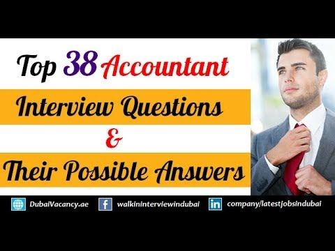 Top 38 Accountant Interview Questions & Their Best Possible Answers