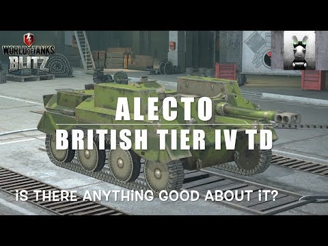 Alecto: British Tier IV TD - Who Needs Armour?: WOT Blitz