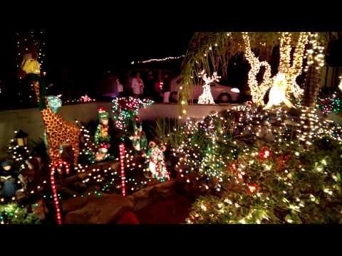 Christmas Lights House In Phoenix