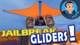 The New Gliders in Roblox Jail break are Awesome!
