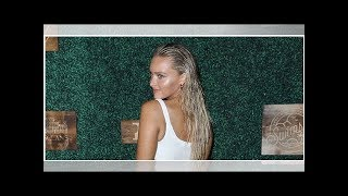 Rob Gronkowski's Girlfriend Camille Kostek Shows Off Her Cute, Casual Side In Vineyard Instagram ...