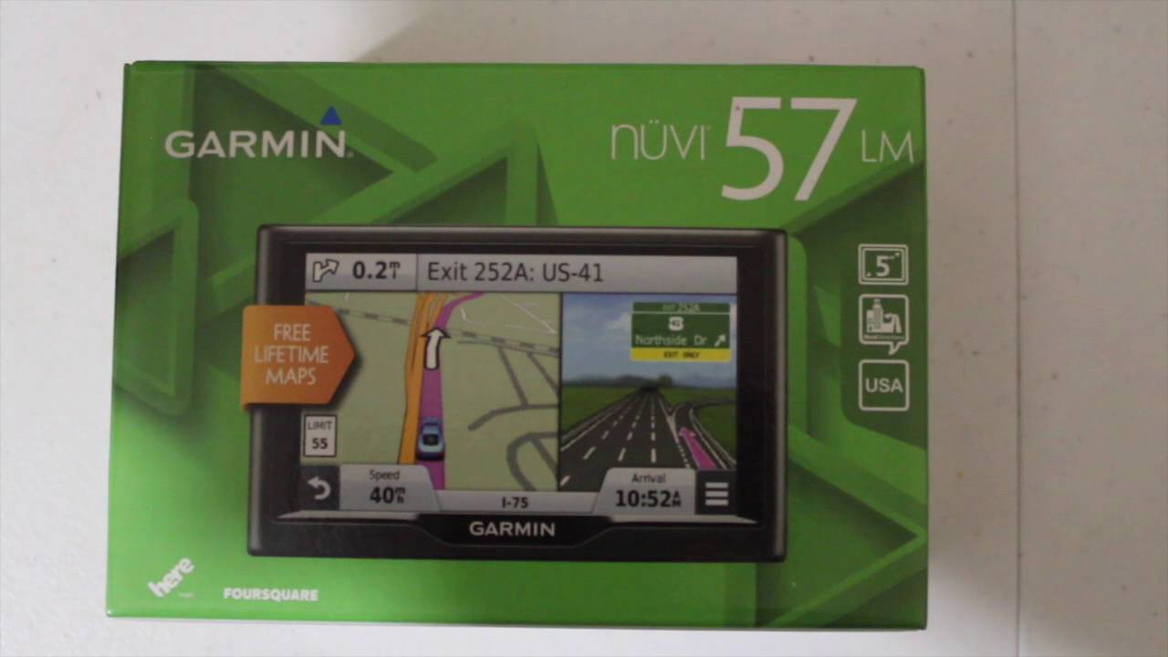 Garmin Nuvi 57 LM review - YouTube