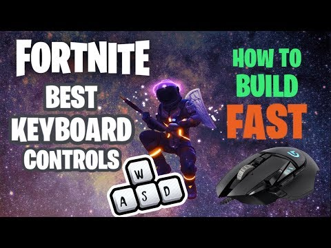 (Hindi) Fortnite How To Build Like A Pro Player |  Best Keyboard Controls Of Fortnite