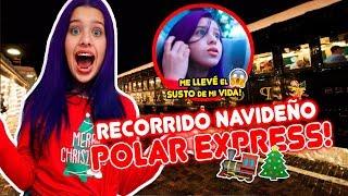 VIAJE AL POLO NORTE!! ❄ EN EL EXPRESO POLAR☃ | Leyla Star 💫