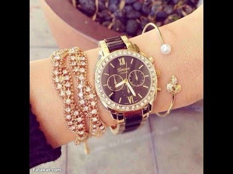 Stylish and beautiful wrist watches for women girl youtube for Watches for girls