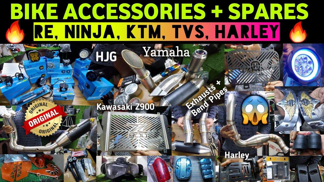 Bike Accessories + Spares   ROYAL ENGIELD, NINJA, KTM, TVS, HARLEY   Bike Modification & Accessories