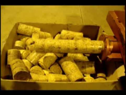 Brikettierpresse - Briquetting press - Prasa do brykietu - Presse à Briquettes RSN ECO