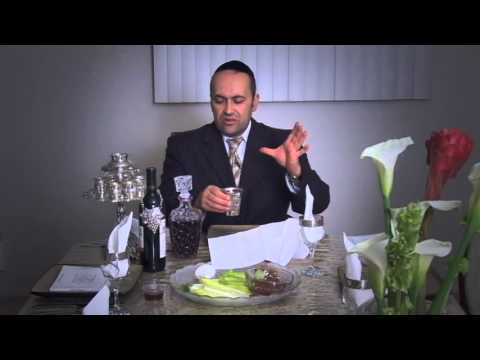 SEPHARADIC SEDER - PASSOVER NIGHT CUSTOMS 2013 - how to host a Passover Seder!