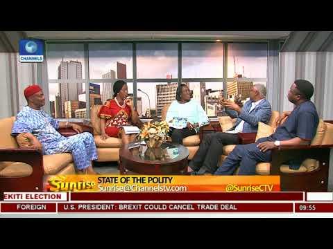 Nnaji, Nya-Etok, Oloyede Discuss State Of The Polity As Ekiti Go To Polls Pt.3 |Sunrise|